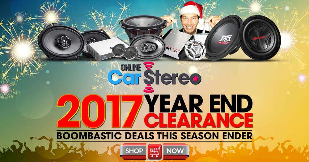car audio holiday sale