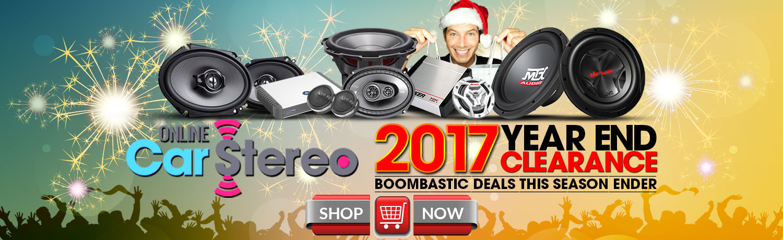 2017 car audio holiday sale