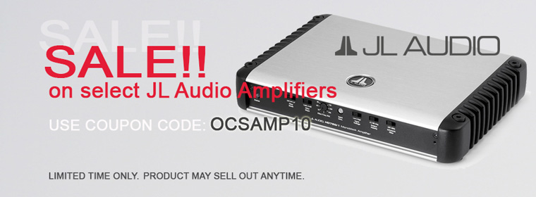 JL Audio Amp Sale