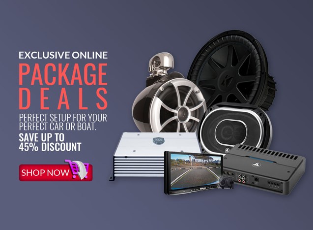 car audio package deals