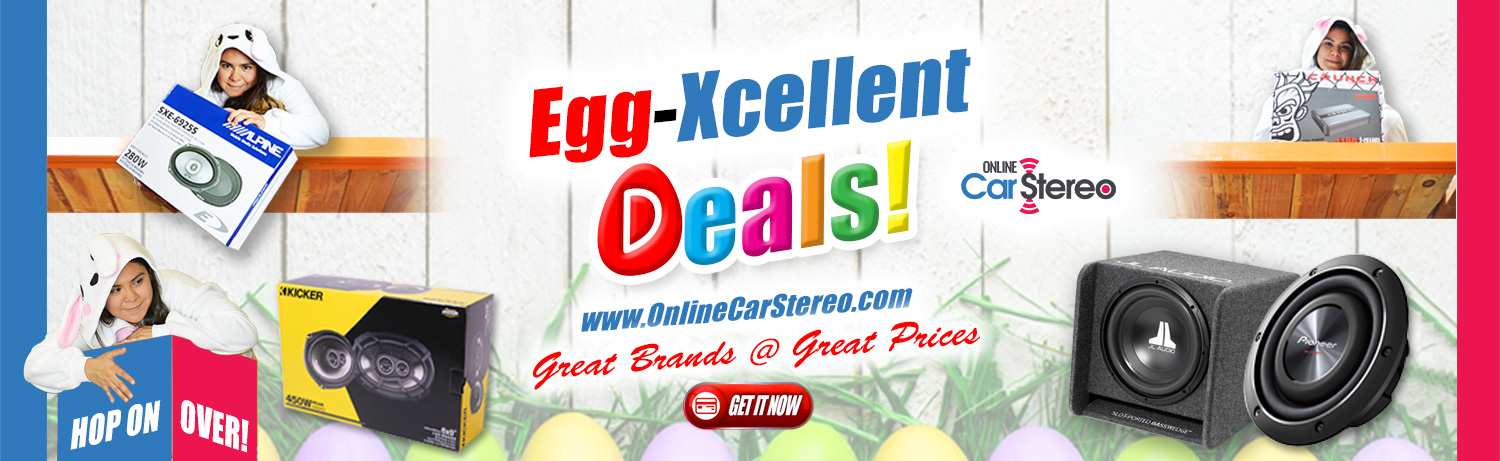 easter egg car audio sale promo