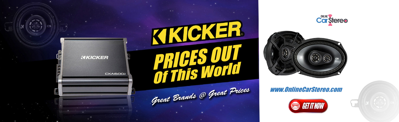 kicker car audio sale promo