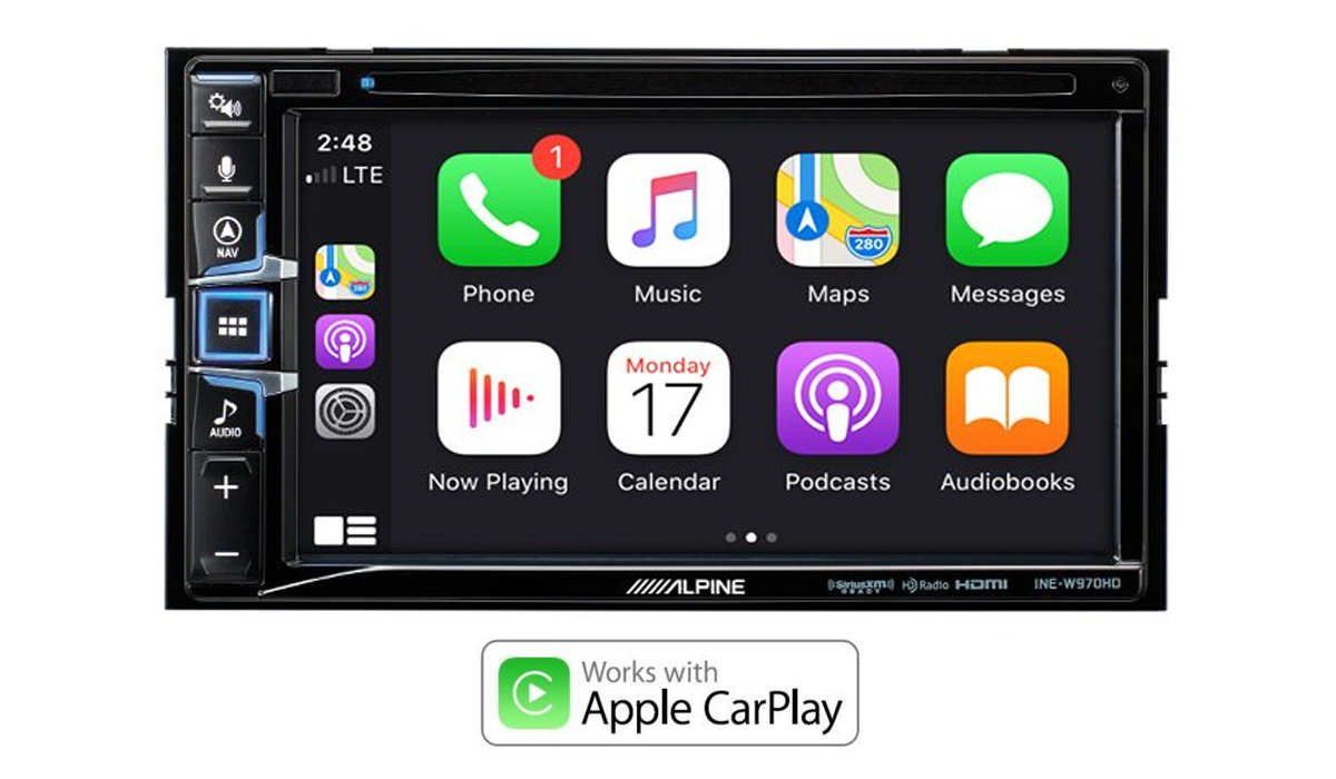 INE-W970HD Apple CarPlay