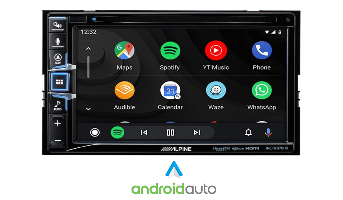 INE-W970HD Android Auto