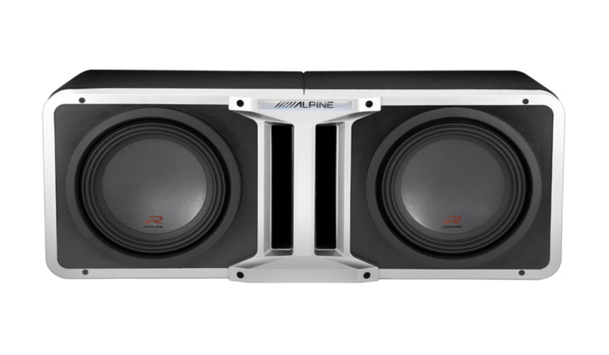 Alpine UNIQUE PROLINK™ DESIGN R-Series subwoofers