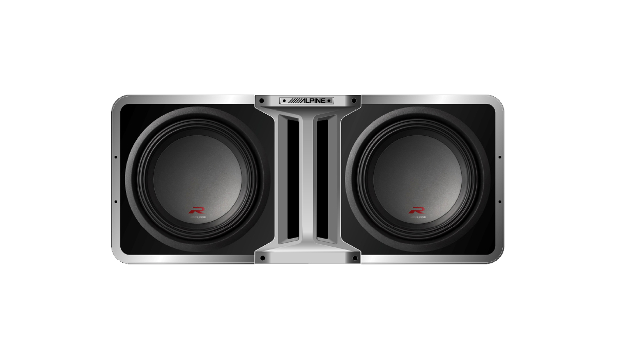 Alpine S-Series and R-Series subwoofers