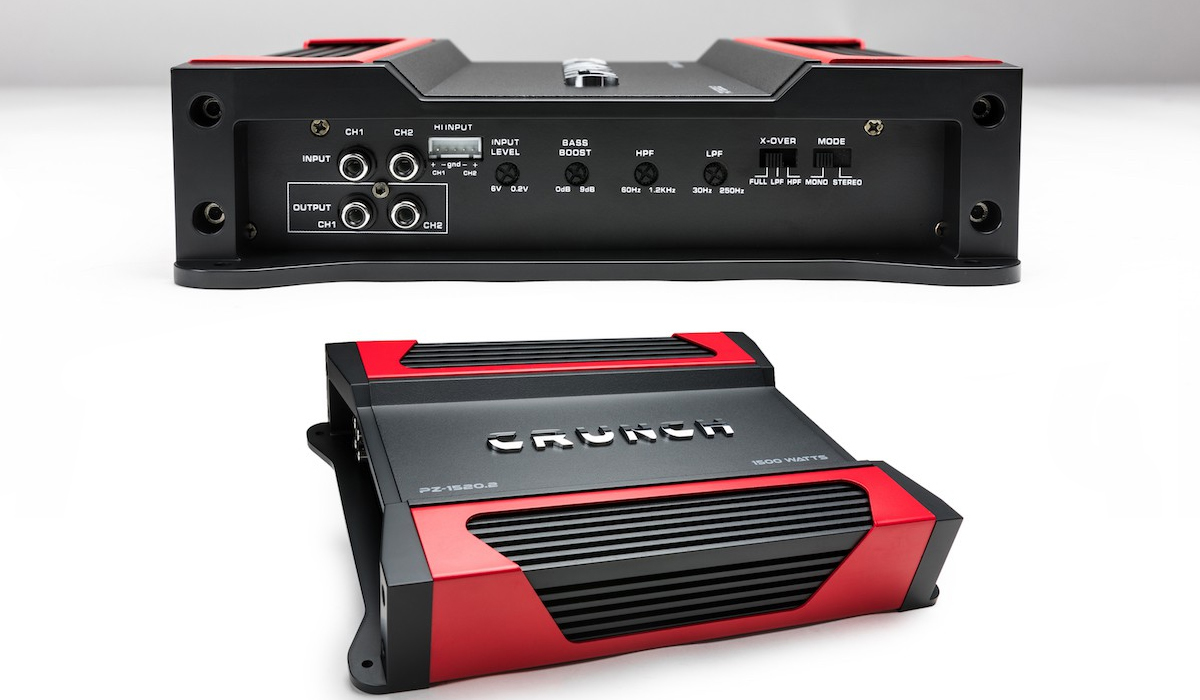 PZ-1520.2 1500 Watts Powerzone Series 2 ohm Stable 2-Channel Class-A/B Car Amplifier