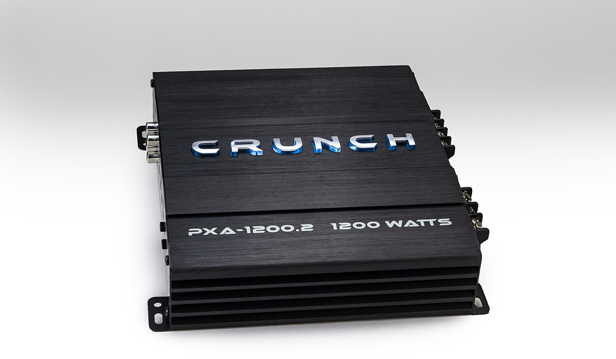 PowerX Series 1200 Watts RMS Class A/B 2-Channel Car Audio Amplifier