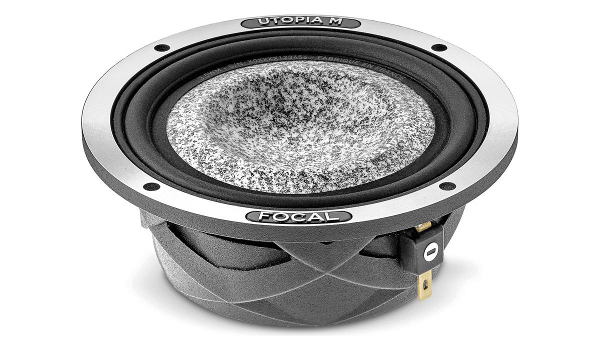 Focal 3.5WM Elite Utopia M Series 3-1/2 inch 100 Watts Max Power Midrange Speaker