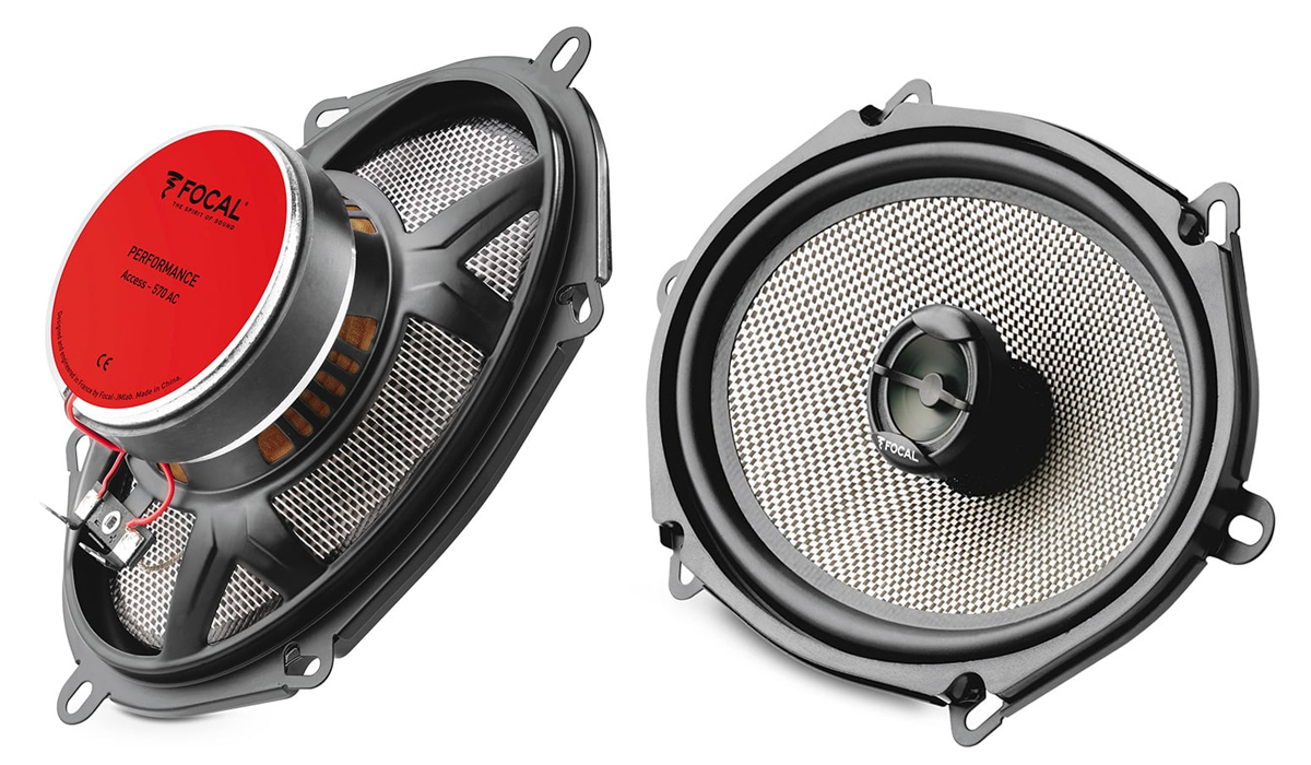 Focal 570 AC Access Series 5x7 inch 120 Watts Peak Power 2-Way Coaxial Car Speaker