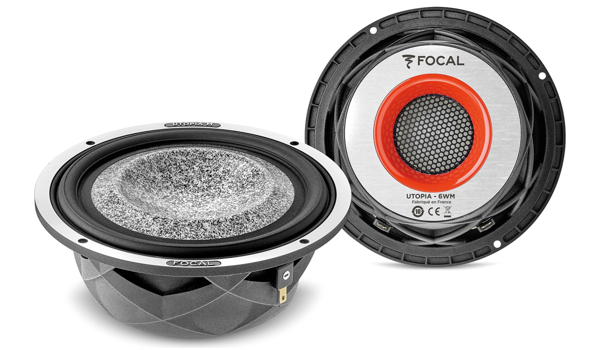 Focal 6WM Elite Utopia M Series 6.5 inch 200 Watts Max Power 4-ohm component Woofers