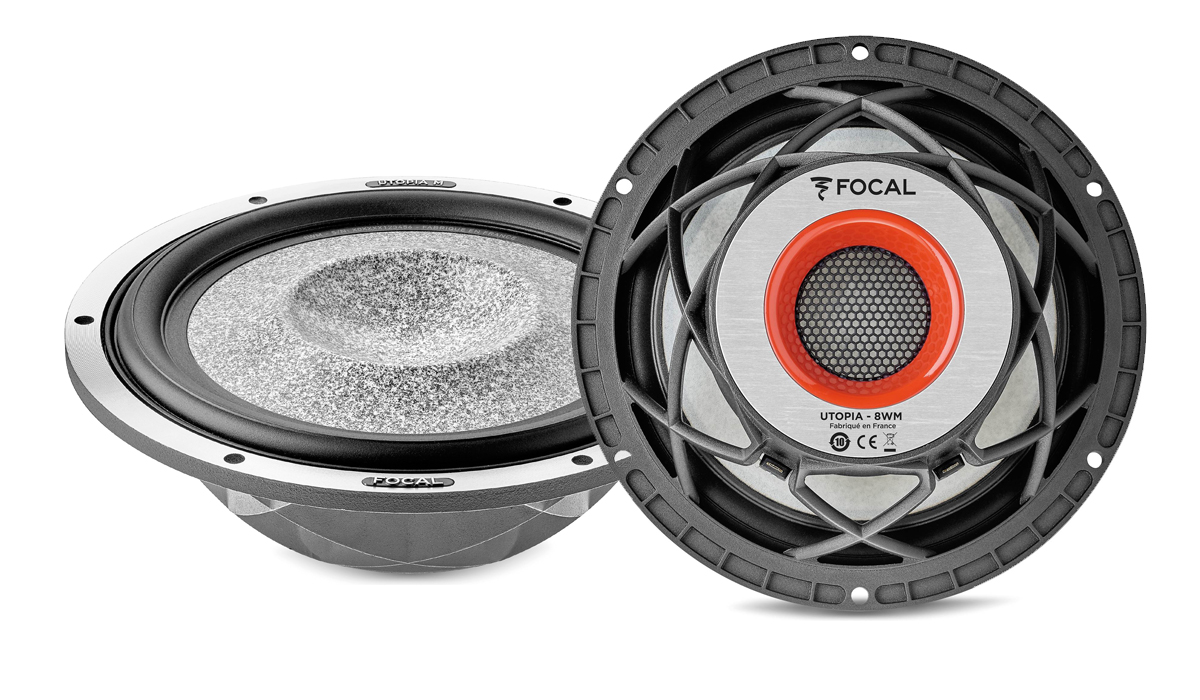 Focal 8WM Elite Utopia M Series 8 inch 200 Watts Max Power 4-ohm Component Woofer