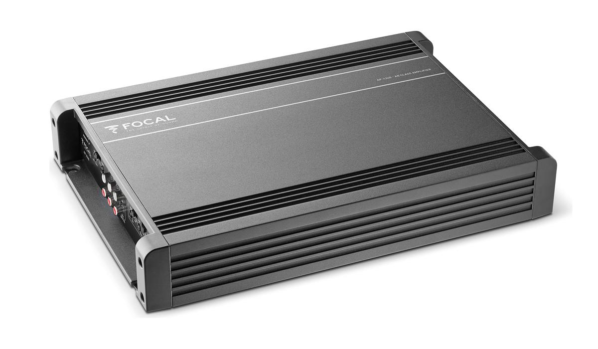 Focal AP4340 380 Watts Peak Power @ 2 Ohms 4/3/2-Channel A/B Class Amplifier