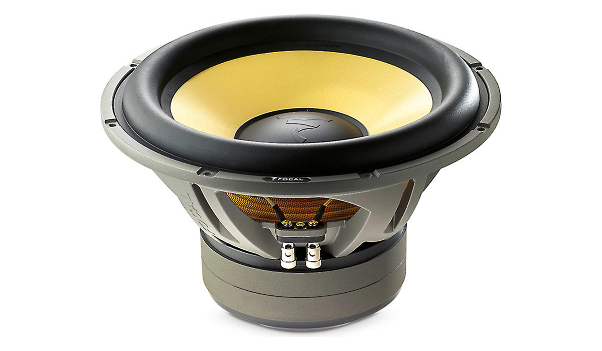 Focal E 30 KX K2 Power Series 12 inch 1600 Watts Max Power Subwoofer Dual 4-ohm Impedance