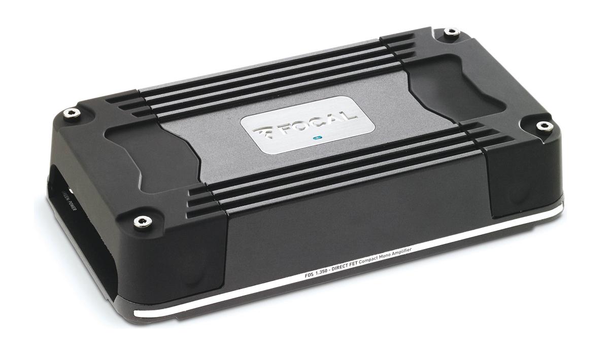 Focal FD 1.350 1x350 Watts Max Power Class D Mono Subwoofer Amplifier