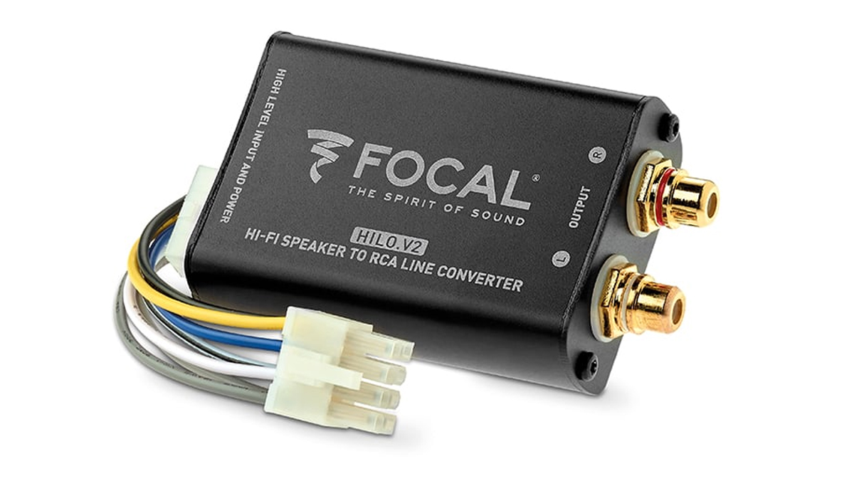 Focal FPS HiloV2 Performance Series High/Low-Level 2-Channel Converter with Remote Turn-on Output