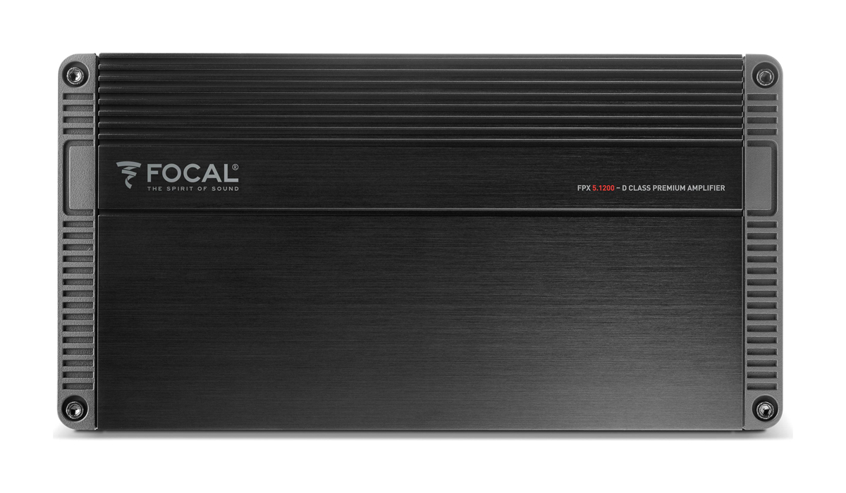 Focal FPX 5.1200 Performance Series 75 Watts x 4 + 420 Watts x 1 RMS 5-Channel Class D Compact Amplifier