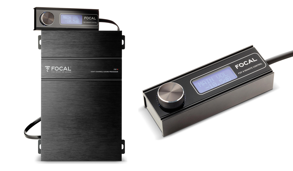 Focal FSP-8 Performance Series 8-Channel Digital Signal Processor