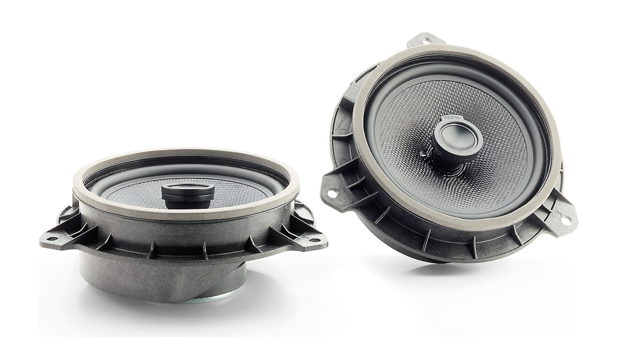 Focal IC 165 TOY Plug & Play Integration 6-1/2 inch 120 Watts Max Power 2-Way Coaxial Kit for Toyota 4-ohm Impedance