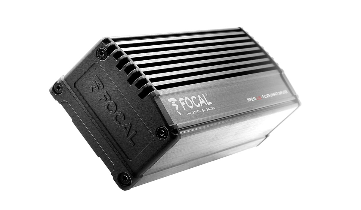 Focal Impulse 4.320 Plug & Play Integration Ultra Compact 80x4W Max Power Class D 4-Channel Amplifier