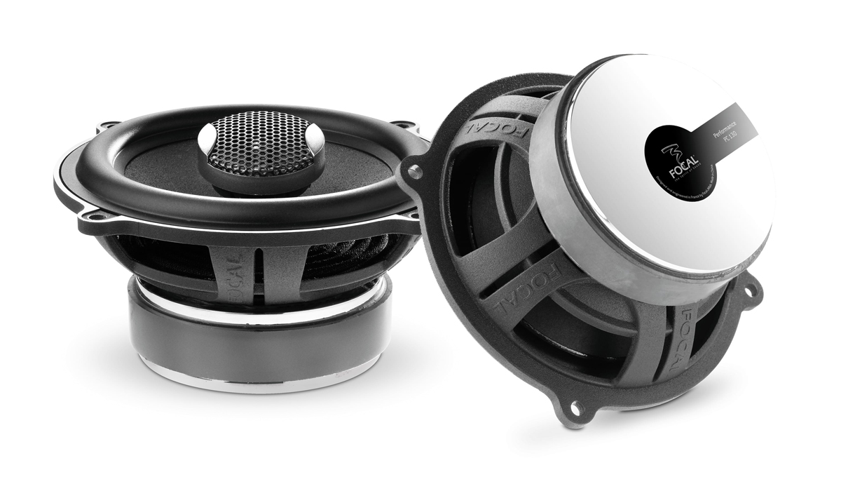Focal PC 130 Expert Series 5-1/4 inch 120 Watts Max Power 2-Way Coaxial Speakers 4-ohm Impedance