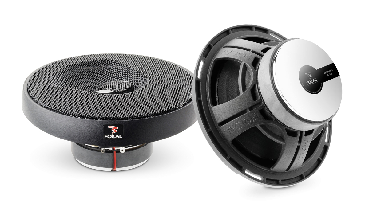 Focal PC 165 Expert Series 6-1/2 inch 160 Watts Max Power 2-Way Coaxial Speakers 4-ohm Impedance