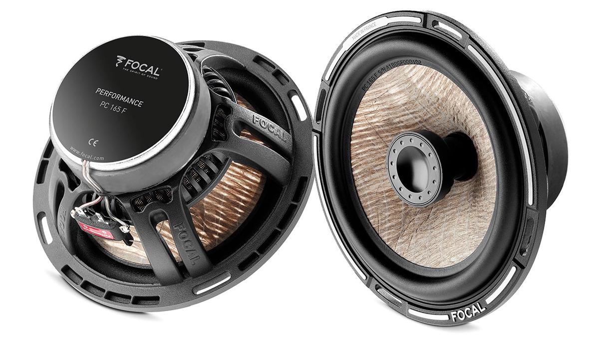 Focal PC 165F Expert Series 6-1/2 inch 140 Watts Peak Power 2-way Car Coaxial Speakers