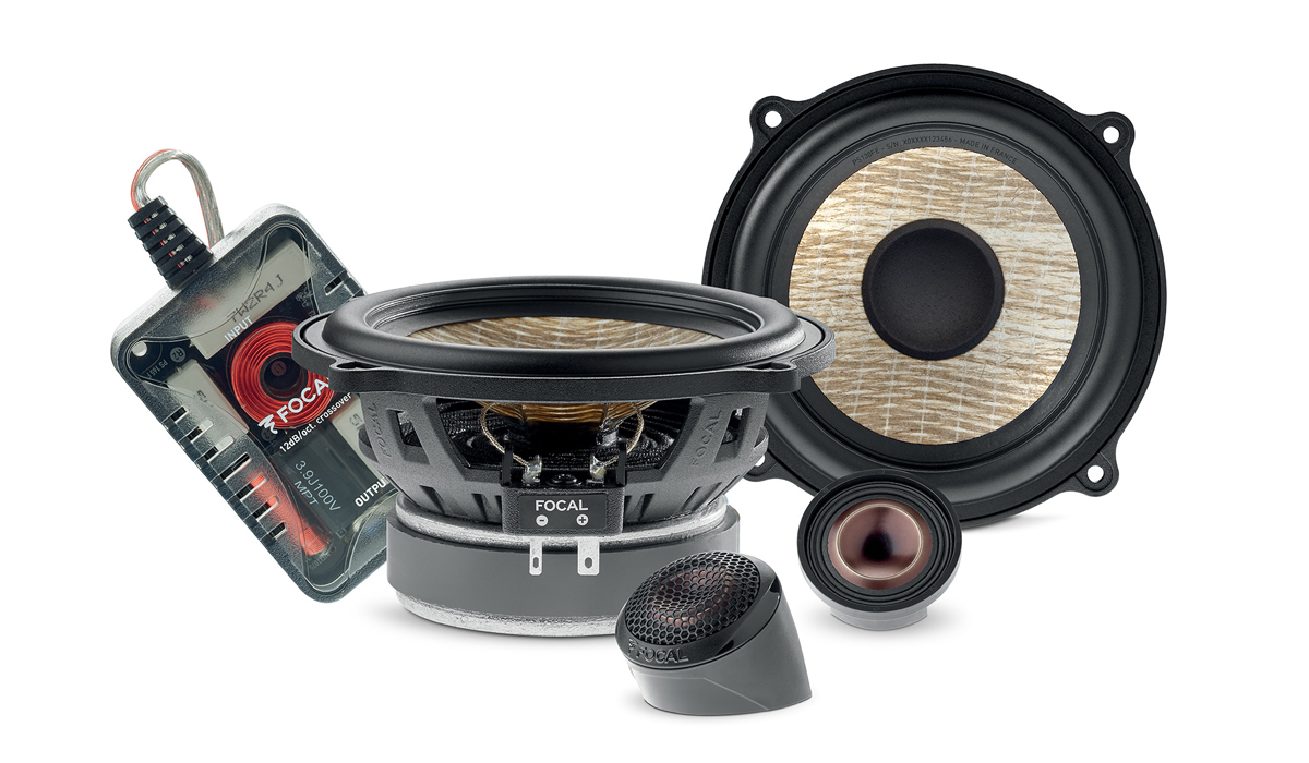 Focal PS 130FE 5-1/4 inch 60W RMS (120W RMS Peak Power) 2-Way Component Speaker System