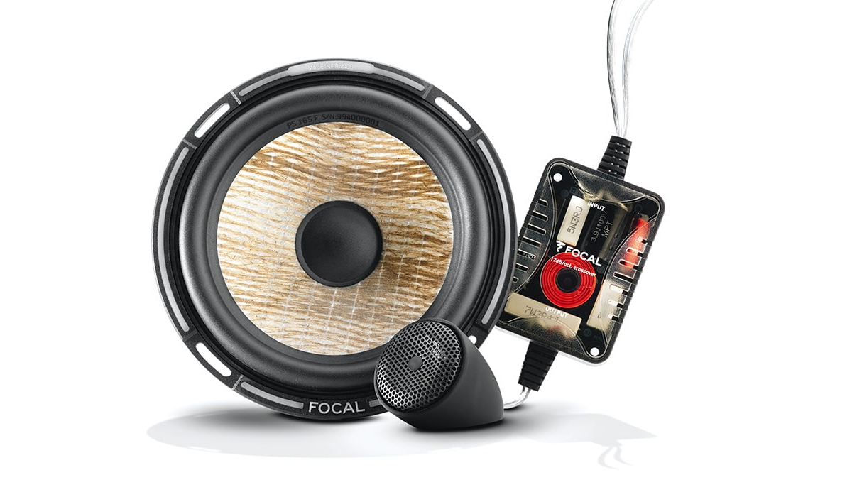 Focal PS 165 F Expert Series 6-1/2 inch 140 Watts Max Power 2-Way Component Speaker System