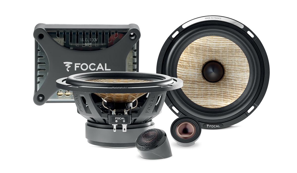 Focal PS 165 FXE 6-1/2 inch 80W RMS (160W RMS Peak Power) 2-Way Component Speaker System