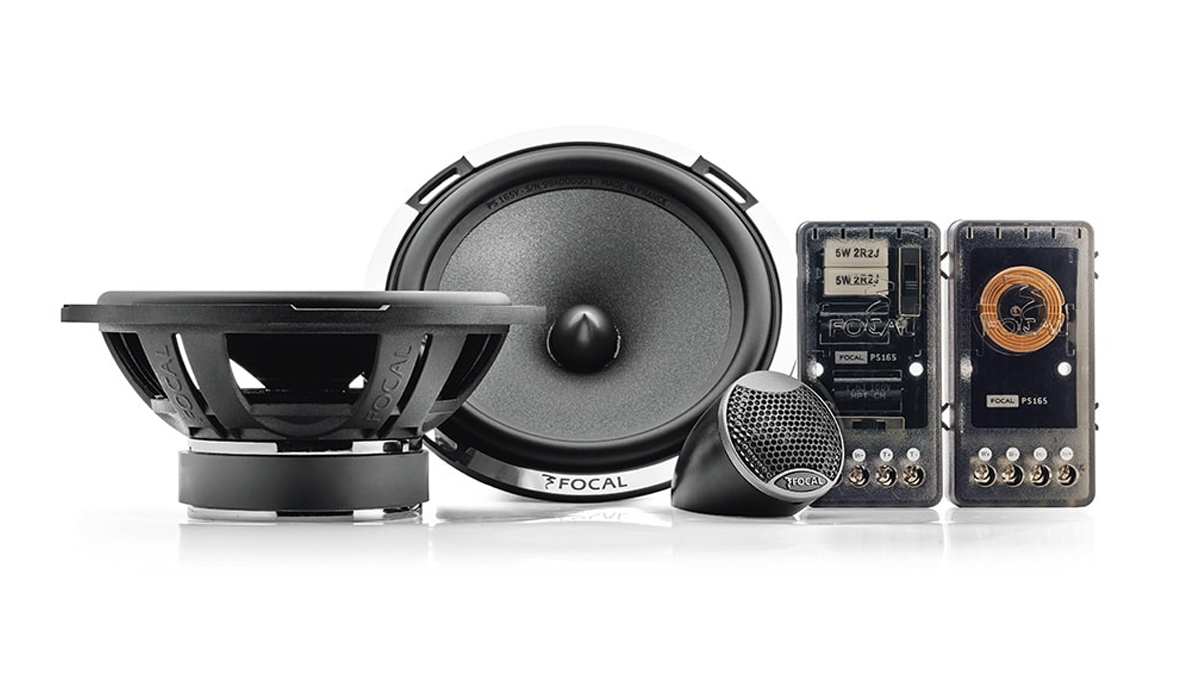 Focal PS 165 V1 Expert Series 6-1/2 inch 160 Watts Max Power 2-Way Component Speakers 4-ohm Impedance