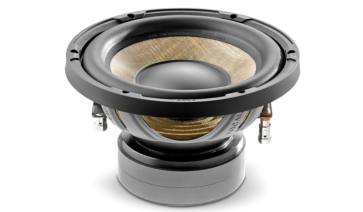 Focal SUB P20 F Expert Series 8 inch 500 Watts Max Power Flax Cone Subwoofer 4-ohms Impedance