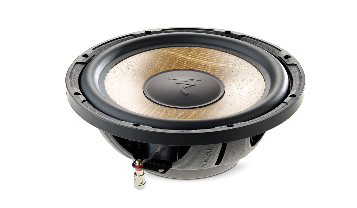 Focal SUB P25 FSE 10 inch 280W RMS (560W RMS Peak Power) 4 ohm Impedance Shallow Subwoofer