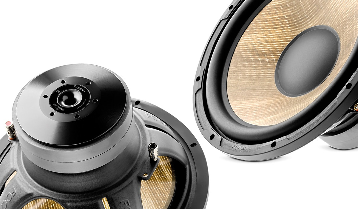 Focal SUB P30 F Expert Series 12 inch 800 Watts Max Power Flax Cone Subwoofer 4-ohm Impedance
