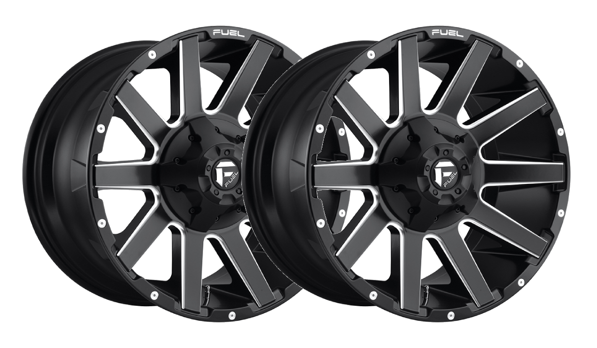 Fuel Matte Black Rims