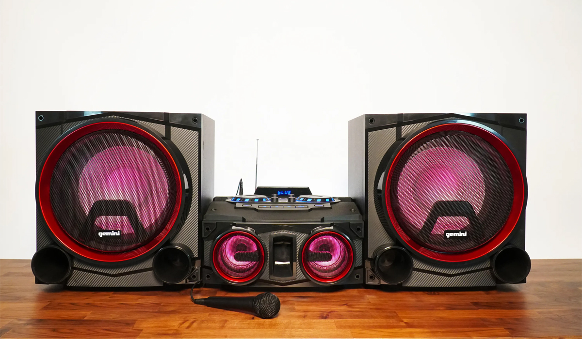 Gemini GSYS-4000 Dual 12 inch 4000W Bluetooth Party System