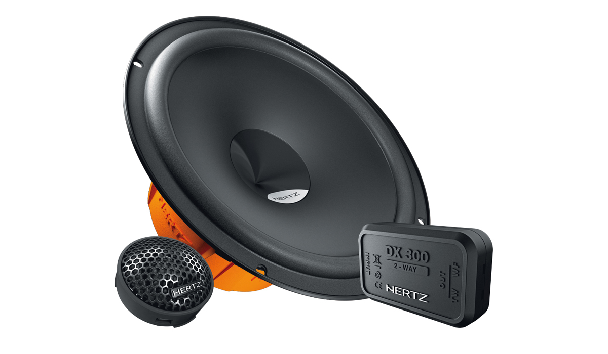 Hertz DSK 165.3 6-1/2 inch 80W RMS Component System