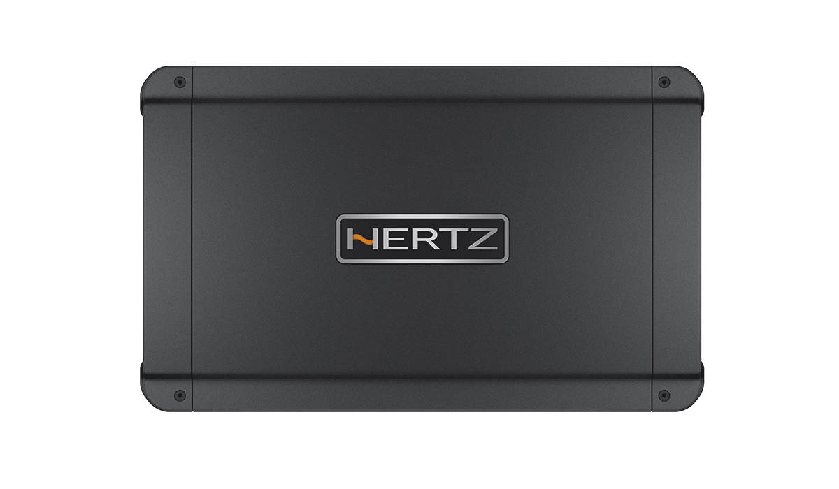 Hertz HCP 4DK 2000W Max Power Class D 4-Channel High Power Amplifier with Crossover