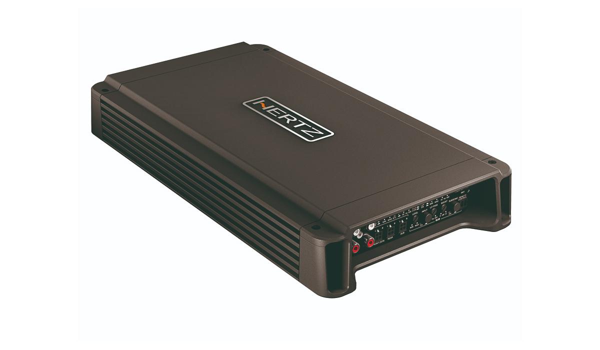 Hertz HCP 5D 105Wx4 RMS + 330Wx1 RMS @ 2 ohms, Class D 5-Channel Car Audio Amplifier