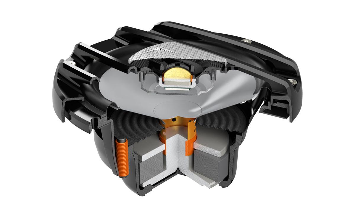 Hertz HMX 6.5 S 6-1/2 inch 150 Watts Peak Power 4-ohm Impedance Powersport Coaxial Speakers - Black