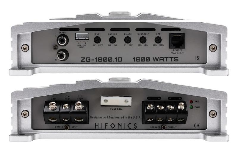 Hifonics ZG-1800.1D
