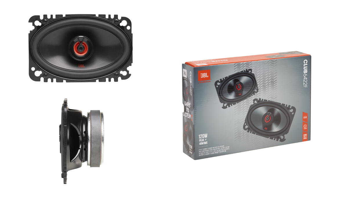 Club coaxial and component speakers