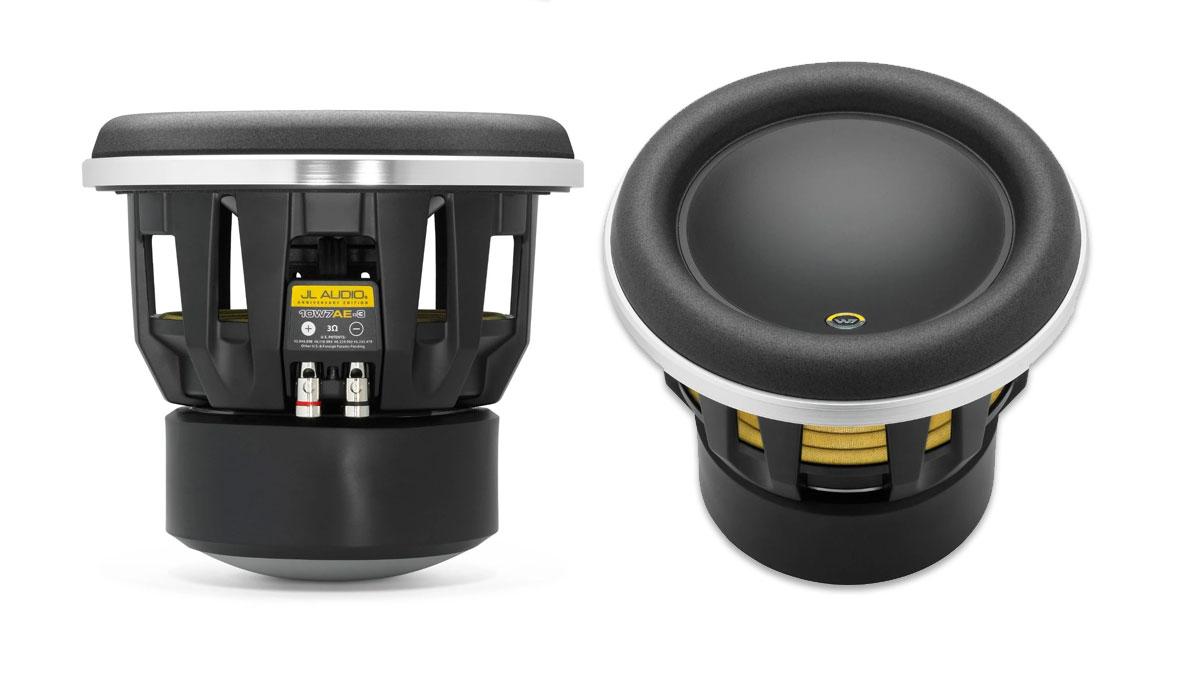 JL Audio 10W7AE-3 10 inch 3Ω Subwoofer Driver