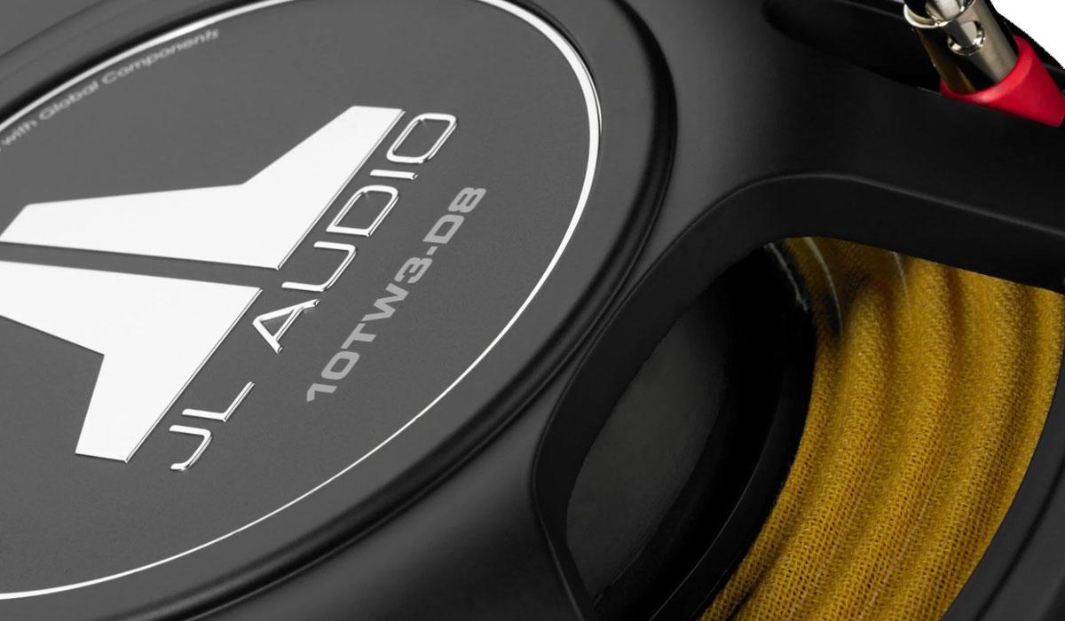 JL Audio 10TW3-D8 10 inch Dual 8Ω Subwoofer Driver
