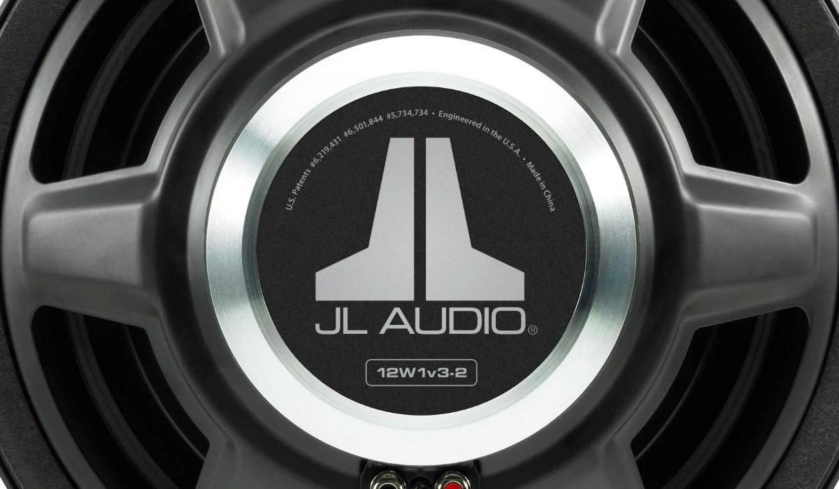 JL Audio 12W1v3-2 12 inch Subwoofer Driver 2Ω