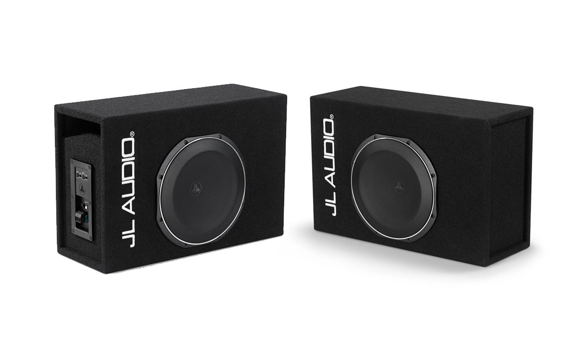 JL Audio ACP112LG-TW1 Ported Single Amplified Subwoofer Enclosure 0.25Ω