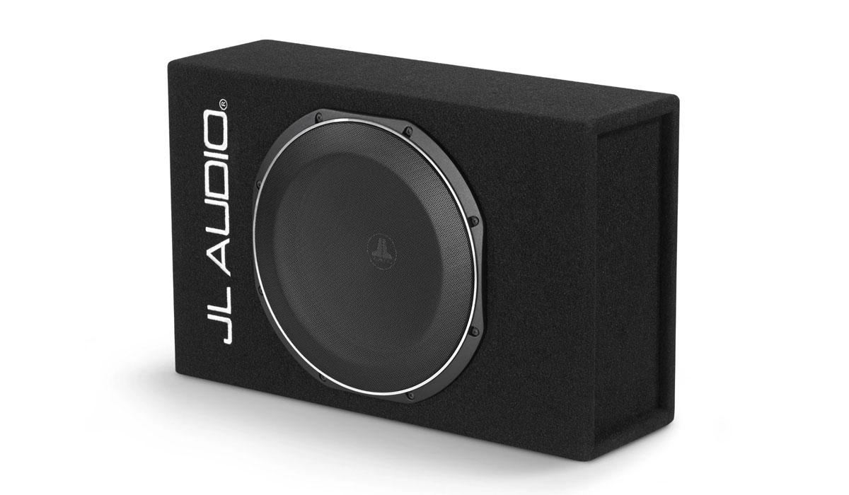 JL Audio ACS112LG-TW1 PowerWedge+ Sealed Single Amplified Subwoofer Enclosure 0.25Ω