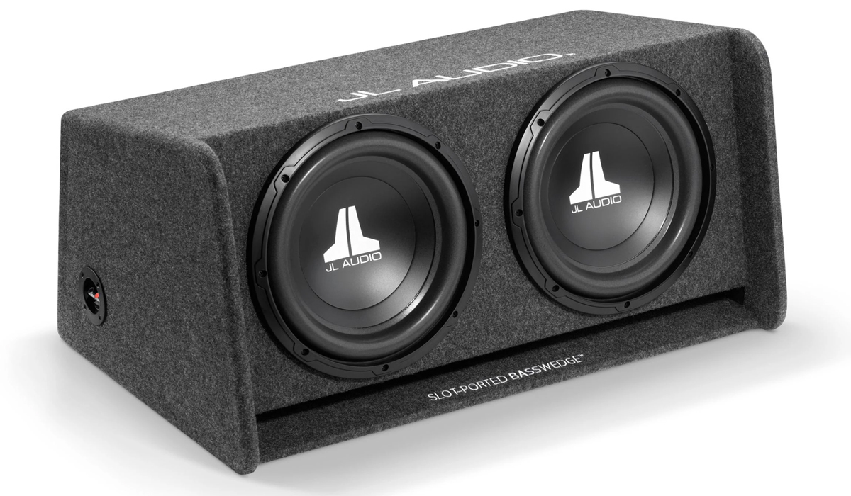 JL Audio CP210-W0v3 Ported Subwoofer Enclosure 2Ω