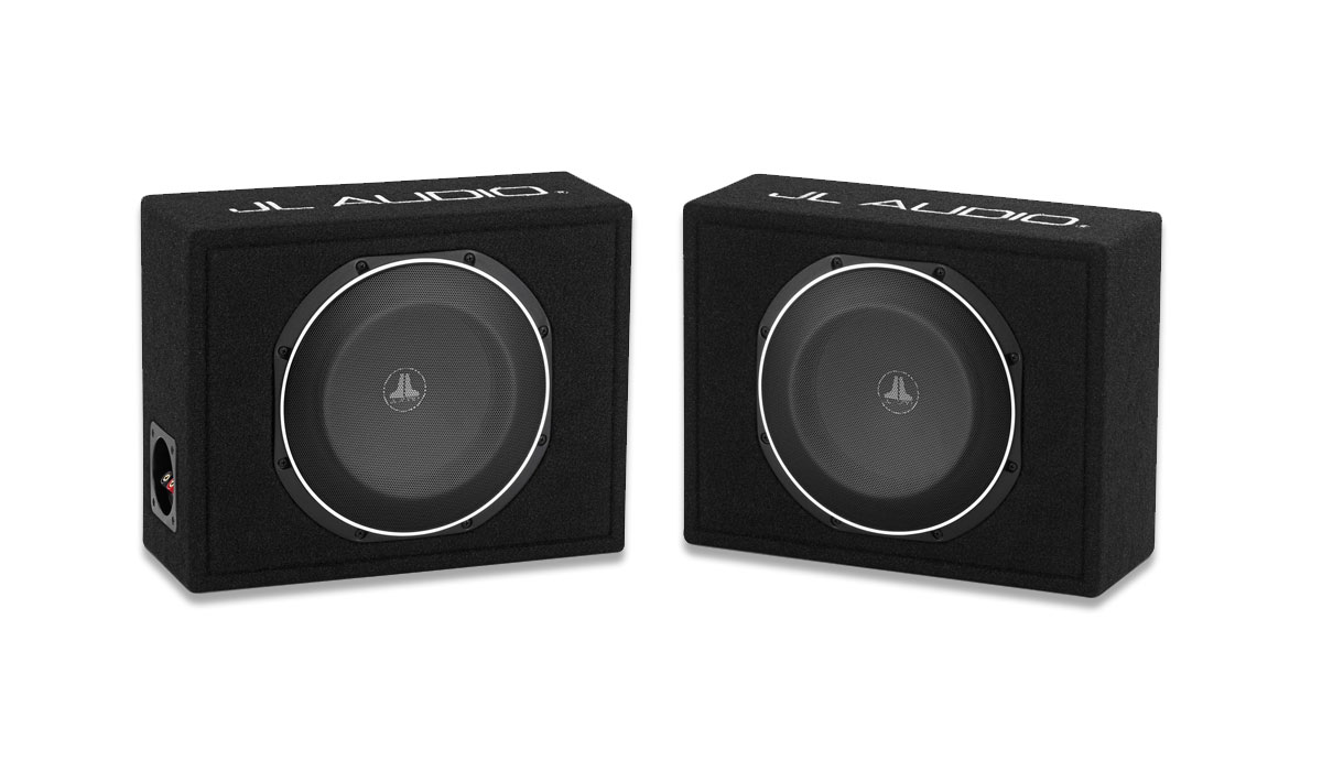 JL Audio CS110LG-TW1-2 PowerWedge Sealed Single Subwoofer Enclosure 2Ω