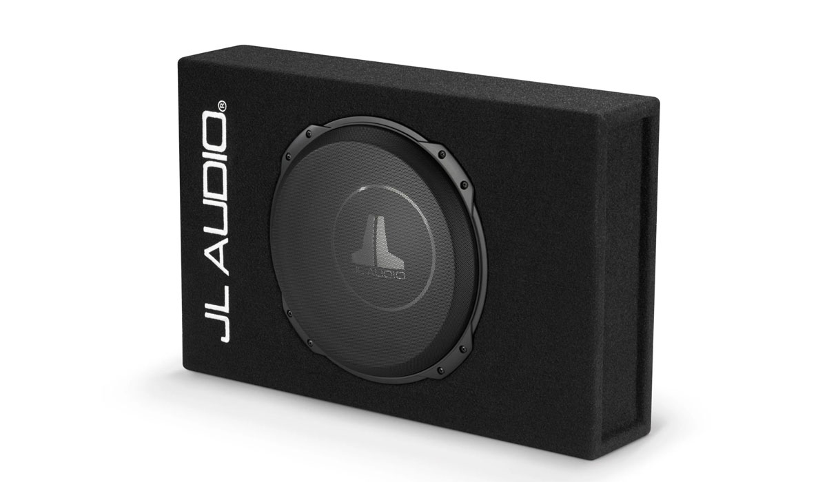 JL Audio CS112LG-TW3 PowerWedge Sealed Single Subwoofer Enclosure 2Ω